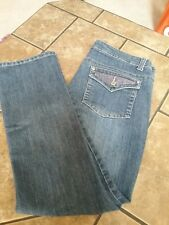 Massini denim jeans size 12 with bling
