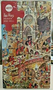 Heye - Heaven and Hell 1500 Piece Jigsaw Puzzle