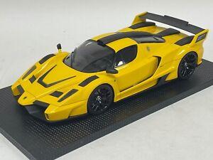 1/18  Ferrari Gemballa Mig U1 in Yellow Hand Build Resin Model n BBR or MR.