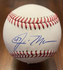 John Means Autographed Baseball W/ PSA/DNA COA
