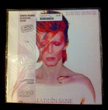 "RYKO DAVID BOWIE ""Aladdin Sane"" LTD EDITION No. 0289 Clear Vinyl 1990 LOW NUMBER"