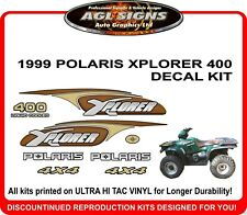 1999 POLARIS XPLORER 400  DECAL SET  4X4 ATV  sticker  reproduction