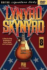 Lynyrd Skynyrd Signature Licks DVD Instructional Guitar DVD NEW 000320466