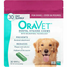 Oravet Dental Hygiene Chews Large Dogs Over 50lbs 30ct By Merial