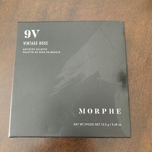 Morphe 9V Vintage Rose Artistry Eyeshadow Palette - New - 9 Shades
