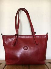 The Bridge Story Donna Bag Leather Designer Red Bag Hobo Vgc Shoulder Shopper