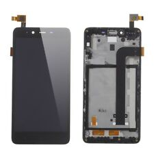LCD Screen and Digitizer Assembly + Frame Black for Xiaomi Redmi Note 2