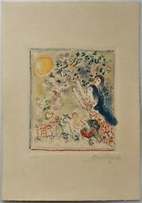 MARC CHAGALL Etching hand signed