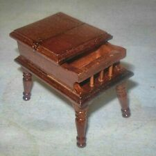 Lamp Table Walnut #6152 Doll House Furniture Miniatures