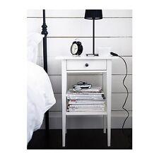 IKEA Ablagetisch Nachtisch Nachtschrank Schubladentisch Kommode Tisch weiß NEU
