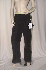 killtec Damen Freizeithose Hose lang schwarz mit grünen Streifen Gr. 38 M NEU