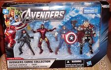 MARVEL THE AVENGERS WALMART EXCLUSIVE  IRON MAN.BLACK WIDOW,THOR,CAPTAIN AMERICA
