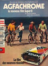 PUBLICITE  1974   AGFACHROME    le nouveau film super 8 _