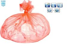 More details for fully soluble red laundry sacks hot water soluble 100 bags