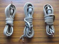 One Vintage Thorens TD124 Original Power Cable fits others TD160 TD145 TD124