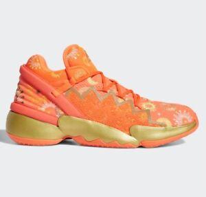 Adidas D.O.N Issue #2 2 Explosives FX7425 Donovan Mitchell DON Solar Red Orange