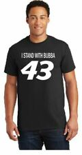 Bubba Wallace I Stand With Bubba 43 Black Cotton Tee Shirt Black Lives Matter