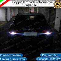 LAMPADE RETROMARCIA 13 LED T15 W16W CANBUS PER AUDI A6 DAL 2009 6000K NO ERROR