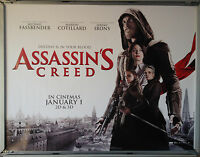 Cinema Poster: ASSASSIN'S CREED 2017 (White Advance Quad) Michael Fassbender