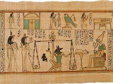 Egyptian Papyrus Reproduction: Amun Nany's Funerary Papyrus. Fine Art Print