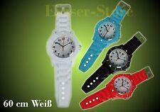 Montre Wall Horloge Murale Blanc 60 cm + Batterie Enfants