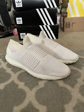 Adidas Ultra Boost Laceless Shoes Mens 9 White Ultraboost