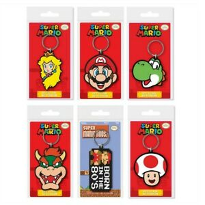 Super Mario 2d Keyring Official Nintendo Super Mario Keychain **BRAND NEW** 80's