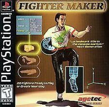 Brand New PS Fighter Maker  (Sony PlayStation 1, 1999) *US seller *US version