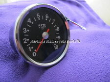 3:1 ratio TACHO tachometer CADRAN NOIR + HOUSSE BSA A65 A50 + porte-lampe+