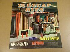 ORGAN ORGEL ORGUE LP / 15 DECAP HITS