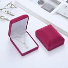 Deluxe Velvet Necklace Pendant Gift Box Case Jewelry Display