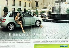 PUBLICITE ADVERTISING 116  2002  La  Fiat  Stilo  (2pages)