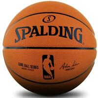 NBA Game Ball Series Composite Leather Indoor/Outdoor Basketball Size 7 Spalding