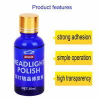 Mighty Headlight Cleaner High Density Headlight Polish Liquid Restoration A++ AU
