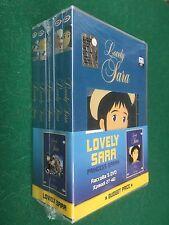 BOX 5 DVD - LOVELY SARA PRINCESS SARAH Episodi 27-46 Dynamic (NUOVI !!!)