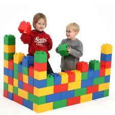 WADER XXL Bausteine Bausteinblock 90 Stück Spielbausteine Riesen Bauklötze Bauen