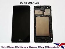 GENUINE BLACK LG K8 2017 M200N REPLACEMENT SCREEN FRAME DISPLAY LCD UK