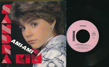 "SANDRA KIM 45 TOURS 7"" BELGIQUE AMI-AMI 1985' BELGIAN KIDS GIRL"