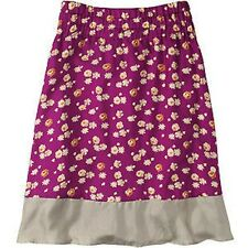 TOAST NANDETTE FLORAL PRINT ORCHID SILK FLOATY A-LINE SKIRT 12 40 8 £125