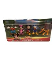 "Mickey Collectible Friends Set Minnie Goofy Pluto Donald Duck Toy Set 2"" New"