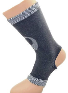SureSoles Ankle Braces Supports Protector muscle joint sport Men Ladies Charcoal