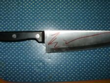 HALLOWEEN KNIFE HAND SIGNED BY TYLER MANE IN PERSON PROOF RARE