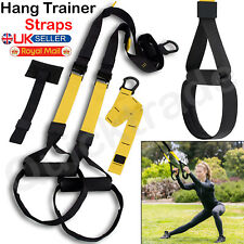 Home Gym Suspension Trainer Straps GYM Training Workout Fitness Resistance Bands