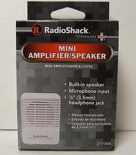 (BRAND NEW!)RadioShack Mini Amplifier/Speaker #2771008 for HAM or Presentations