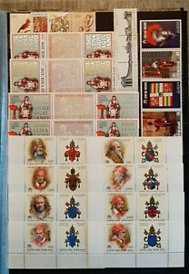 VATICAN (3411) Nice Small Collection (MNH)