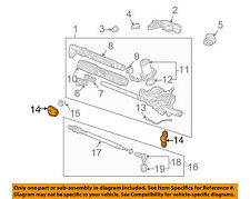 HONDA OEM 02-05 Civic Steering Gear-Stiffener Right 53439S5A000