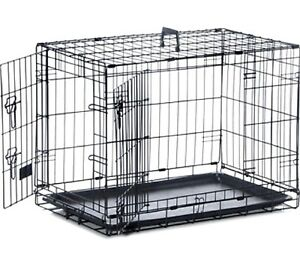 SAFE N SOUND DOG CRATE - (S, M, L, XL) - Sharples Pet Cages 2 Door Home bp Cage