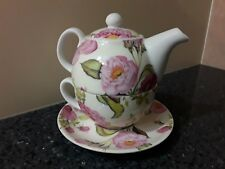 Modernliving Three Piece Tea for One Floral Set  Made in China
