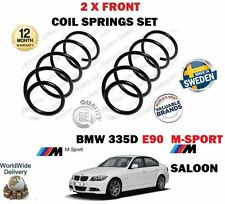 FOR BMW 335D E90 M SPORT SALOON 286BHP 2006-2011 NEW 2 X FRONT COIL SPRING SET