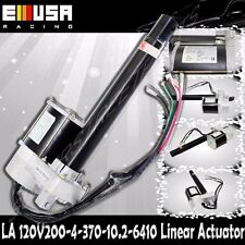 """8"""" Stroke 200mm Linear Actuator 880lbs Max Lift for Car Boat 4mm/s Spd DC 120V"""